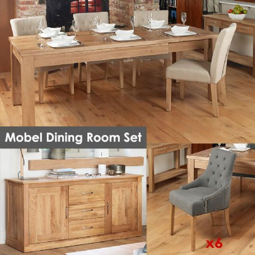 Mobel Oak Dining Room Set